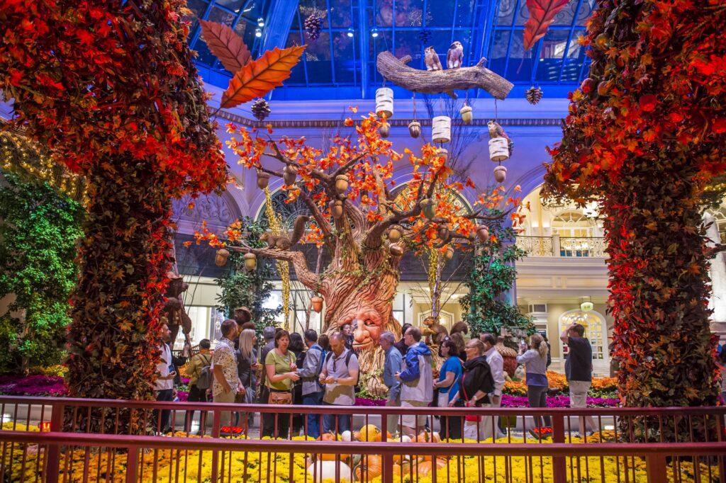 Thanksgiving at the Bellagio Hotel in Las Vegas.