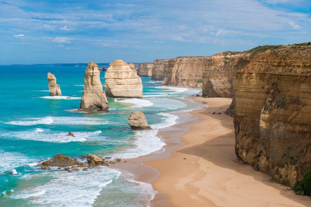 The 12 Apostles in Australia.
