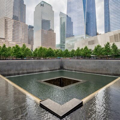 The 9/11 Memorial and Museum in New York City.