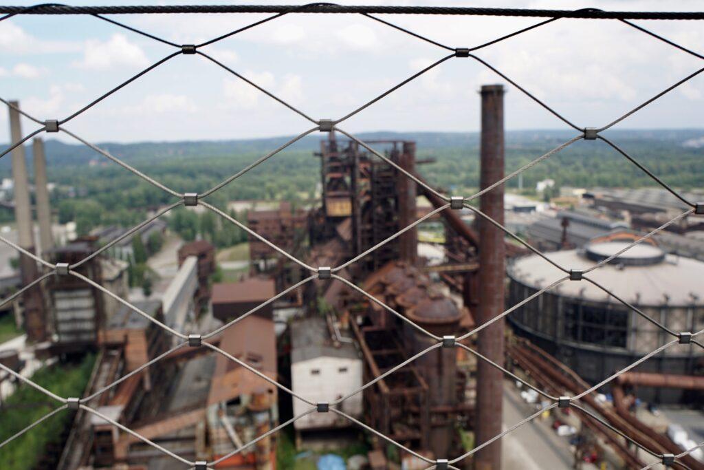 The abandoned Dolní Vítkovice.