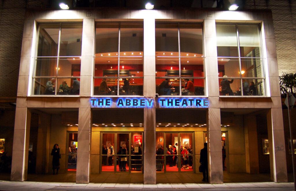 The Abbey Theatre in Dublin.