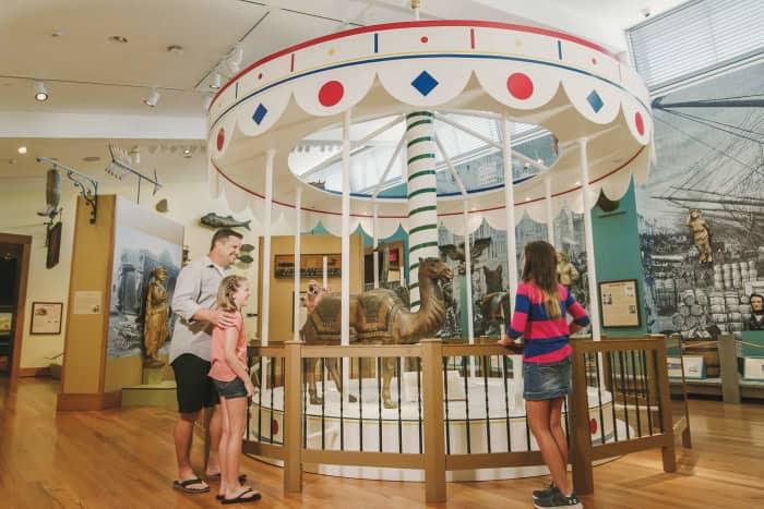 The Abby Aldrich Rockefeller Folk Art Museum.