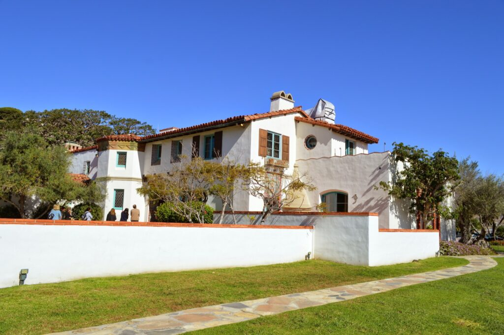The Adamson House and Malibu Lagoon Museum.