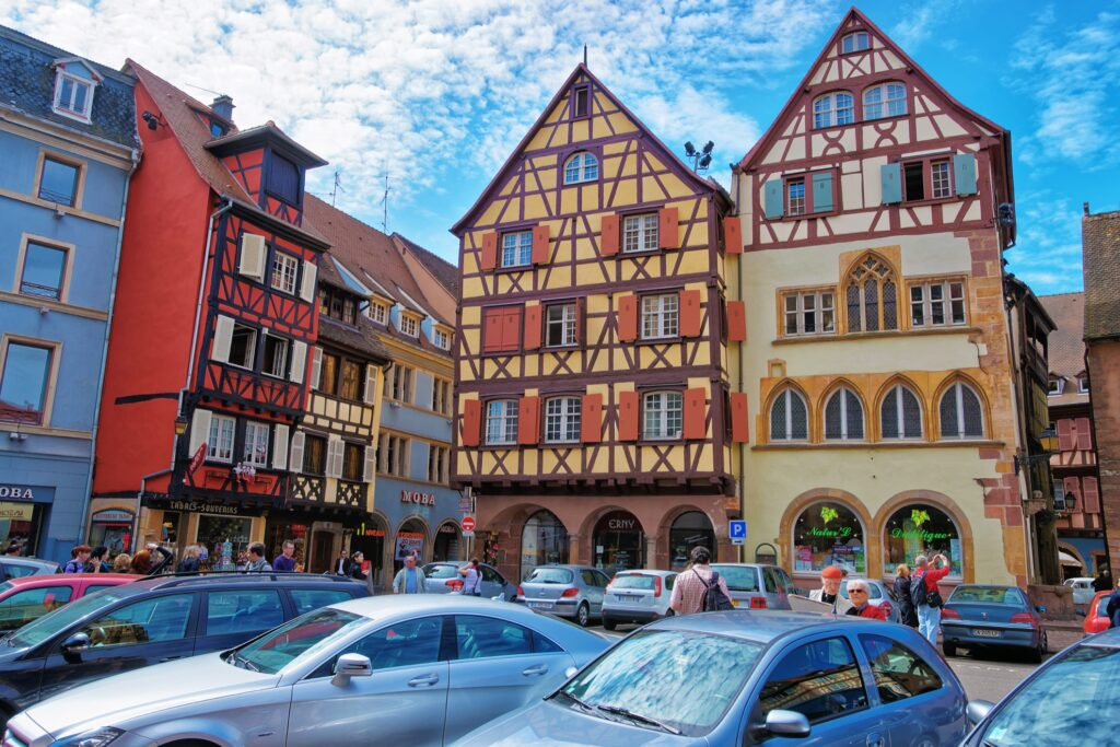 The Adolph House in Colmar, France.