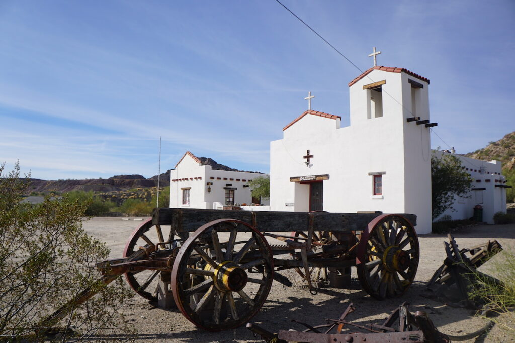 The Ajo Historical Society Museum in Arizona.