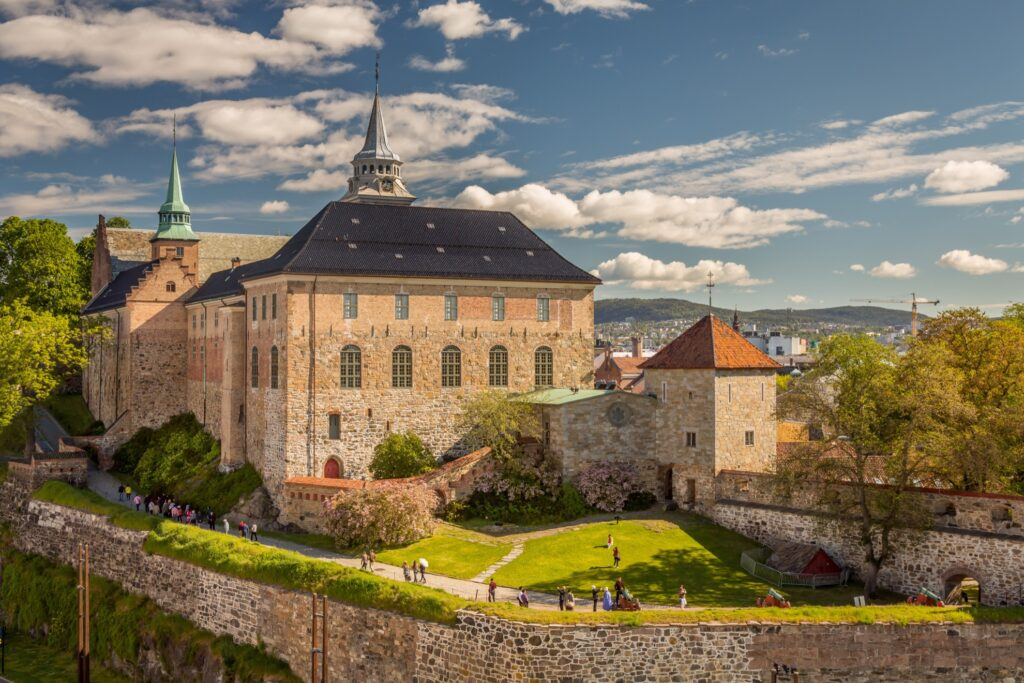 The Akershus Fortress in Norway.