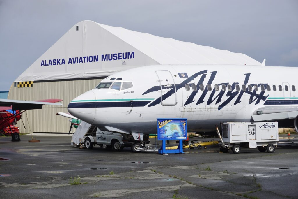 The Alaska Aviation Museum in Anchorage.