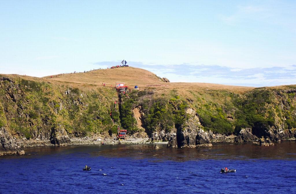 The Albatross Monument at Cape Horn.