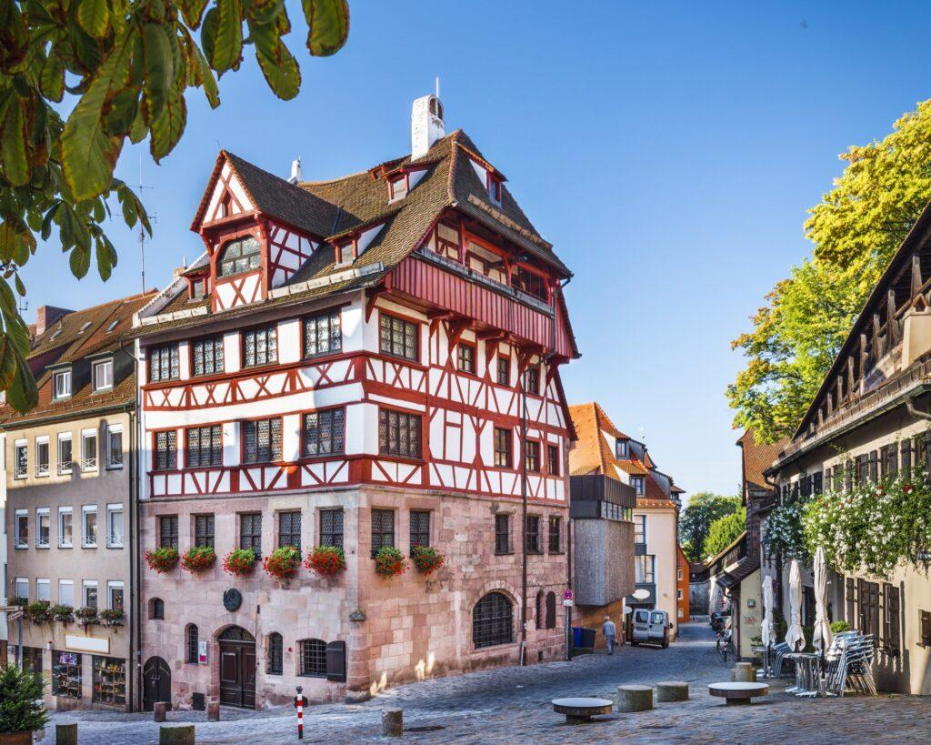 The Albrecht Durer House in Nuremberg.
