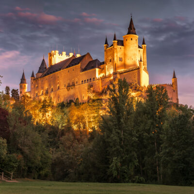 The Alcazar De Segovia in Spain.