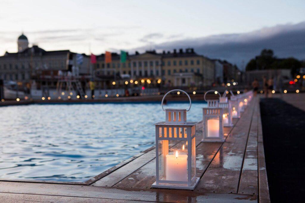 The Allas Sea Pool in Helsinki.
