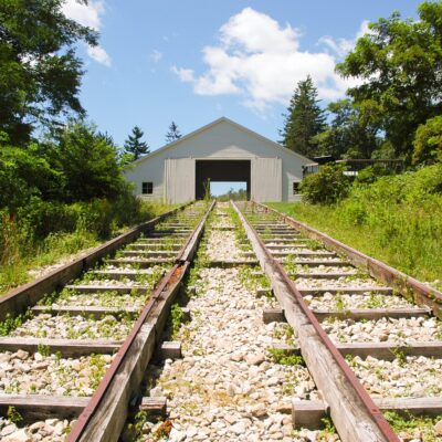 The Allegheny Portage Railroad National Historic Site in Pennsylvania.