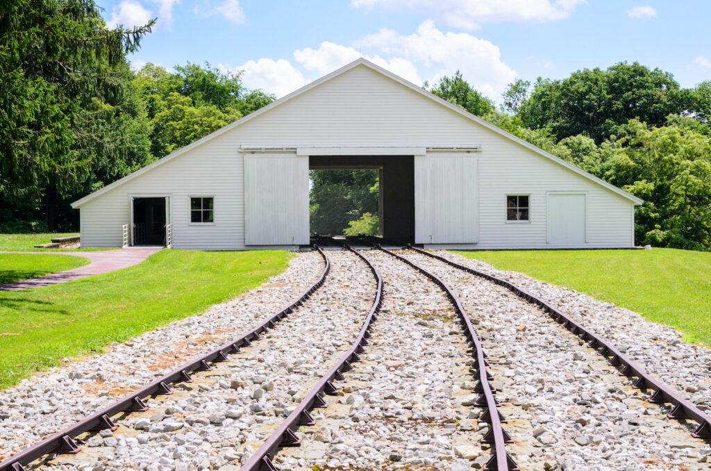 The Allegheny Portage Railroad National Historic Site.