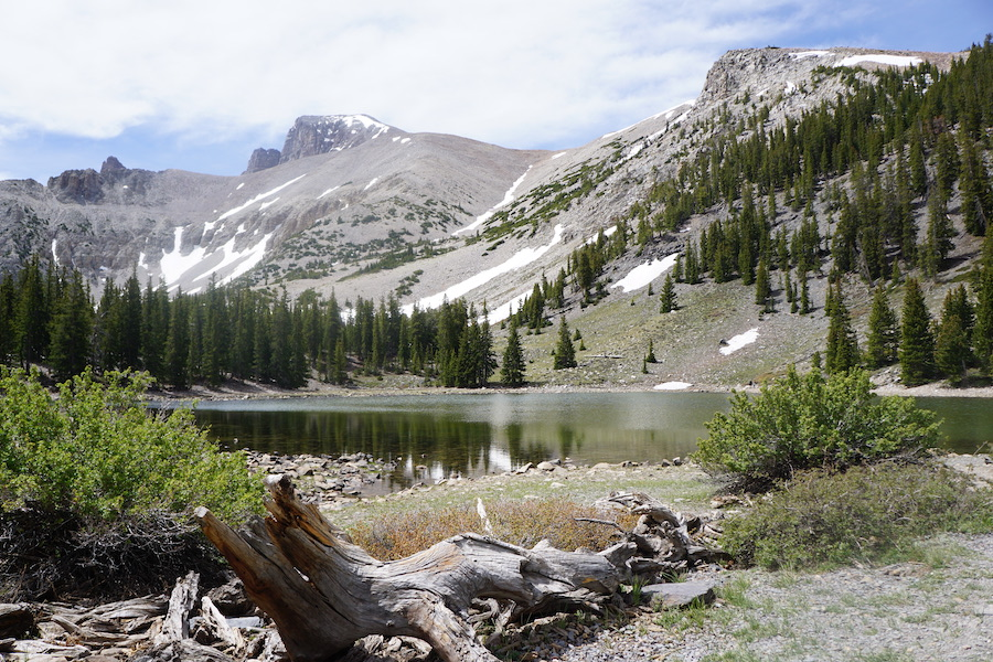 The Alpine Lakes Loop Trail in Great Basin National Park.