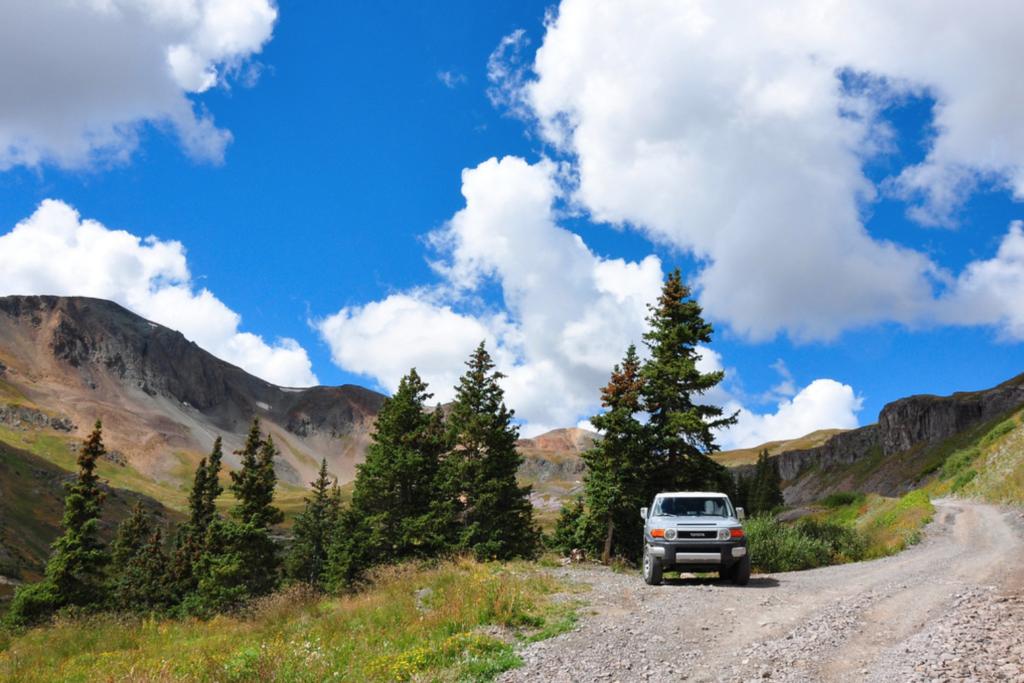 The Alpine Loop in Colorado.