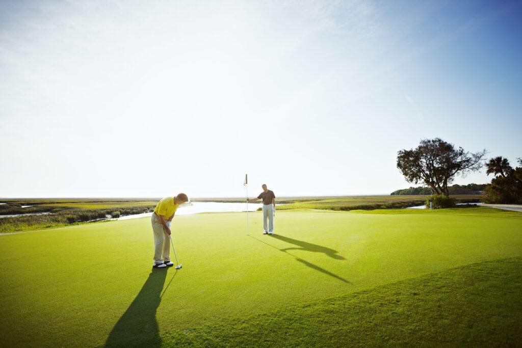 The Amelia Island Omni Plantation Resort golf course.