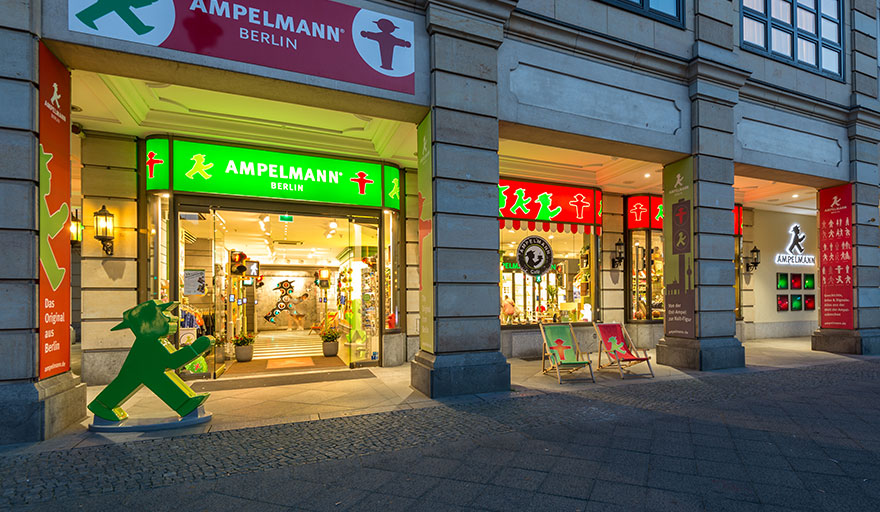The Ameplmann flagship store in Berlin.