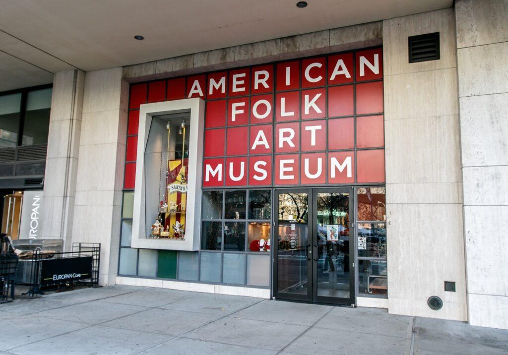 The American Folk Art Museum in New York City.
