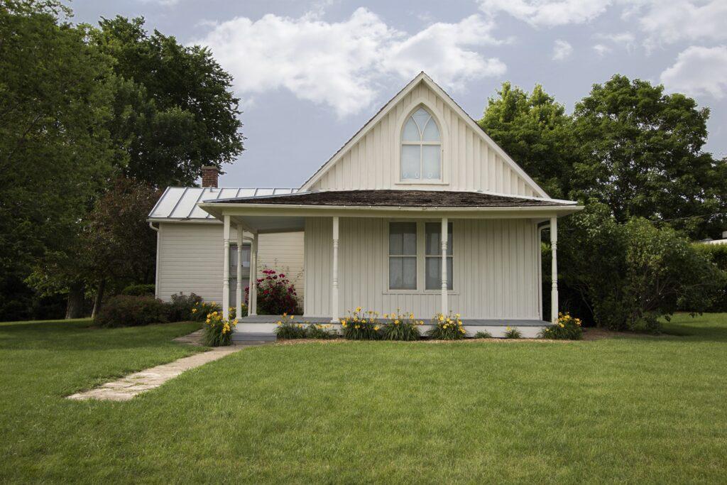 The American Gothic Farmhouse in Iowa.