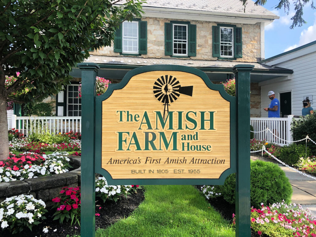 The Amish Farm and House tour in Lancaster.