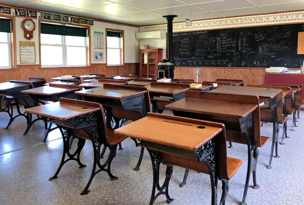The Amish Schoolhouse tour in Lancaster.