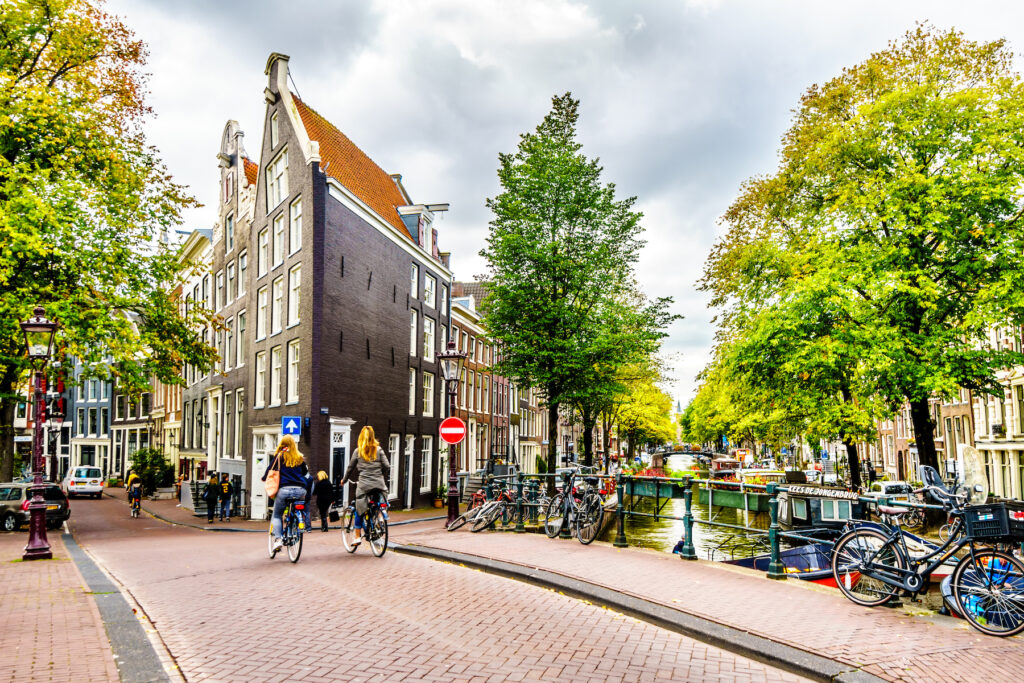 The Amsterdam neighborhood where Anne Frank's House is located.