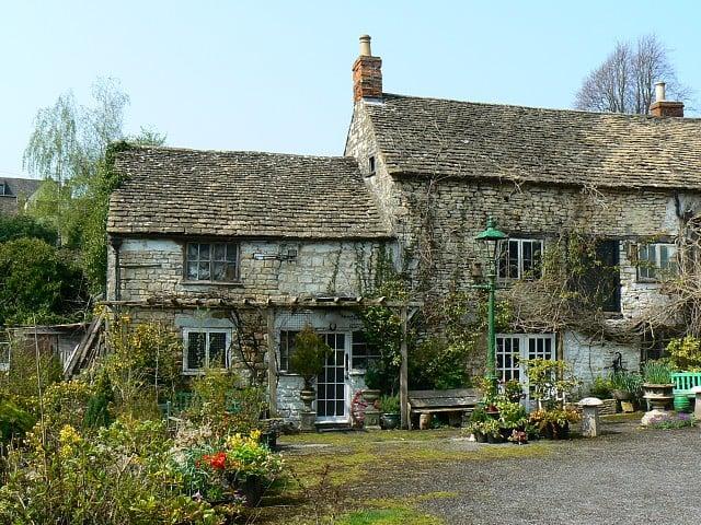 The Ancient Ram Inn in England.