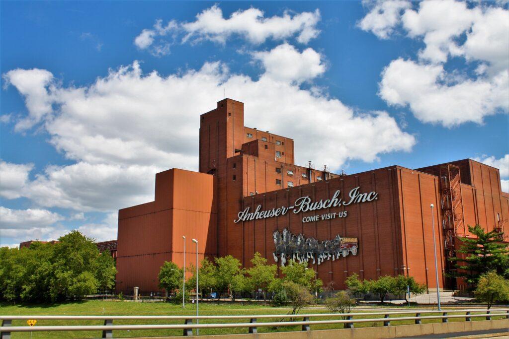 The Anheuser Busch Brewery.
