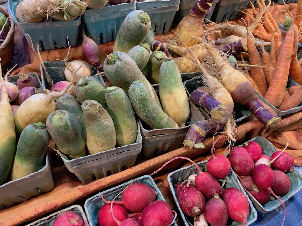 The Ann Arbor Farmers Market in Michigan.