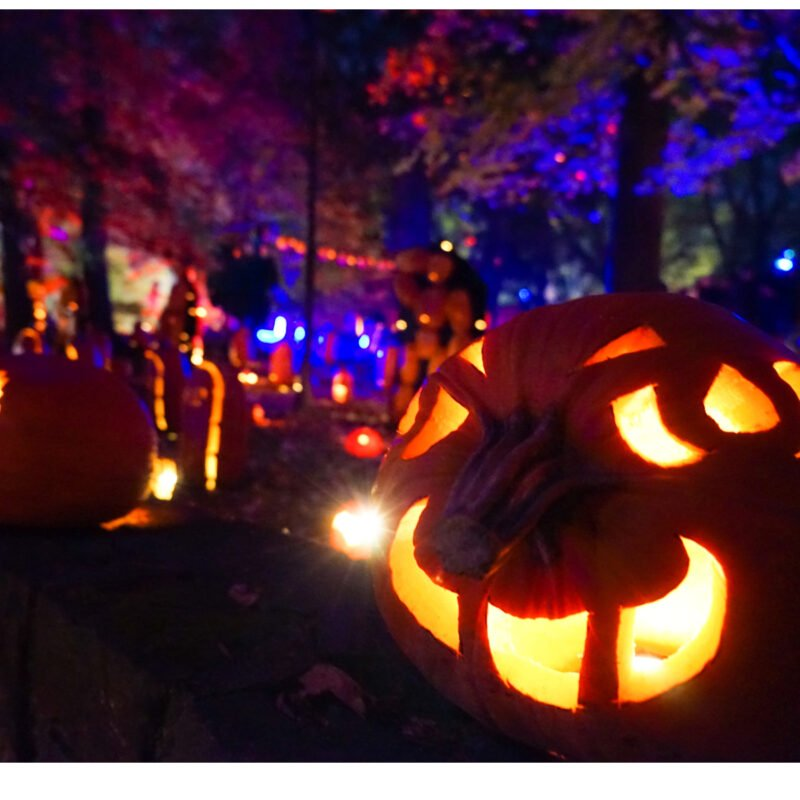 The Annual Great Jack OLantern Festival in Hudson, New York.