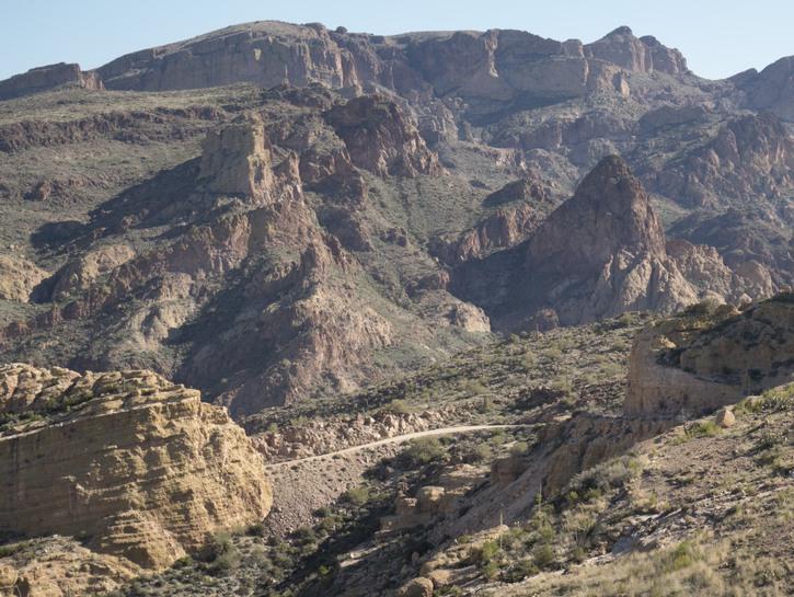 The Apache Trail, Arizona