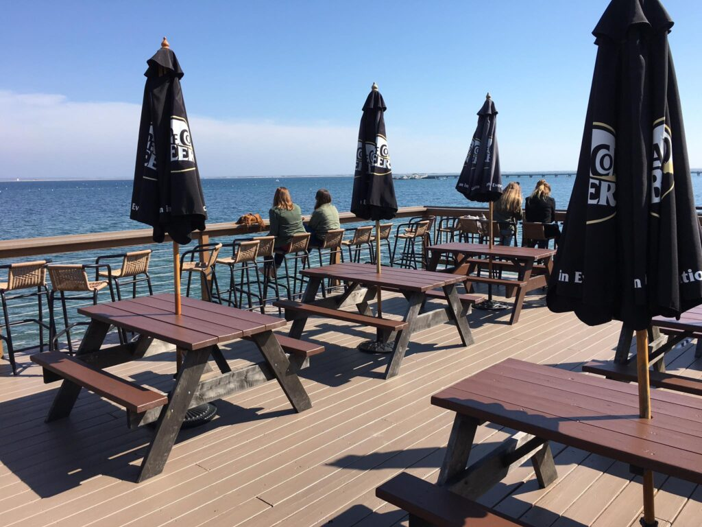 The Aqua Bar in Provincetown.