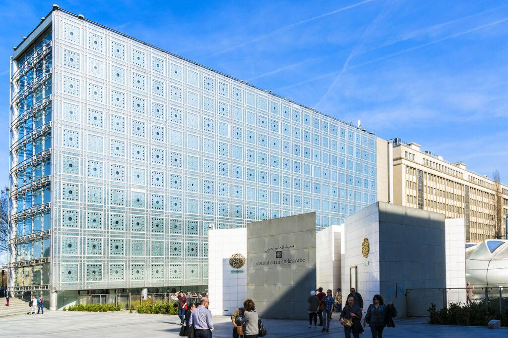 The Arab World Institute in Paris.