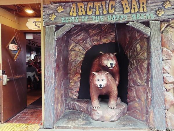 The Arctic Bar in Ketchikan, Alaska.