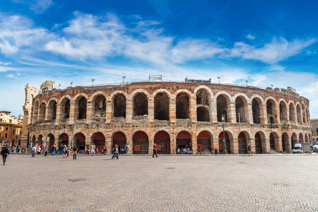 The Arena di Verona in Italy.