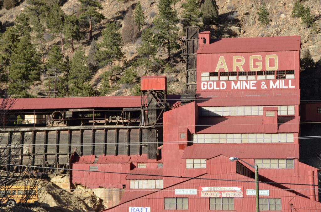 The Argo Mill in Idaho Springs, Colorado.