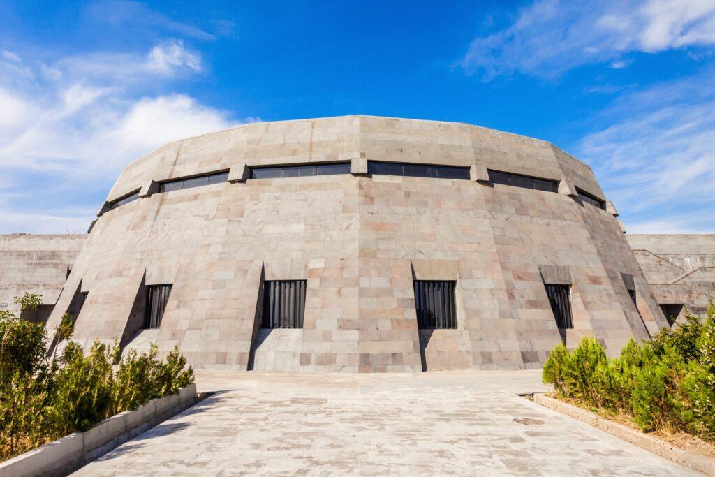 The Armenian Genocide Memorial Museum.