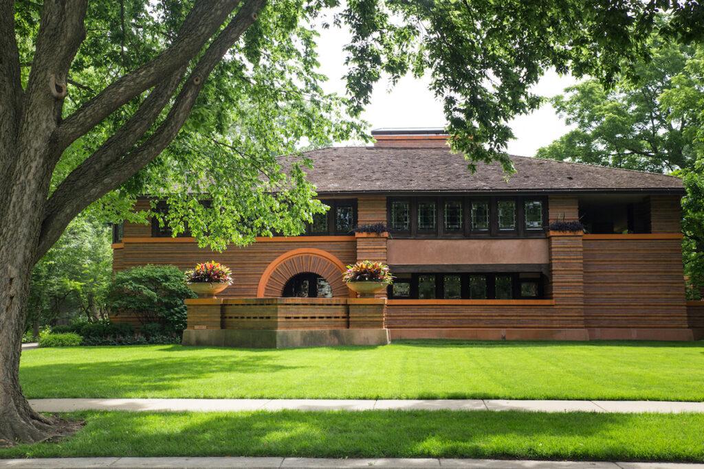 The Arthur Heurtley House in Illinois.