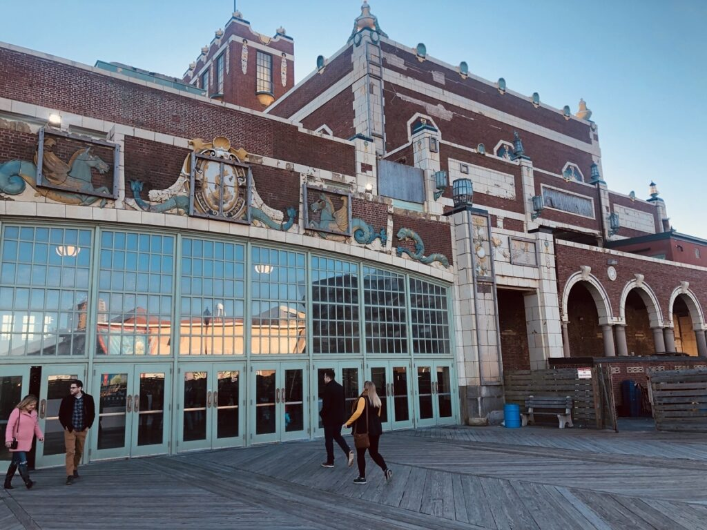 The Asbury Park Convention Hall in New Jersey.
