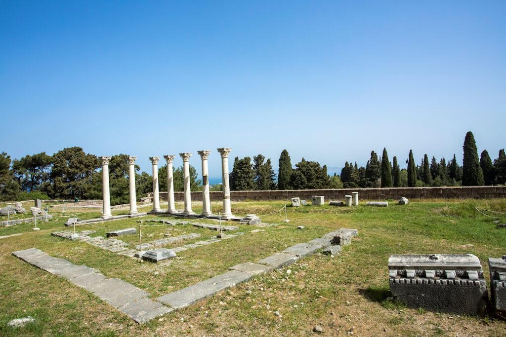 The Asklepion in Kos, Greece.