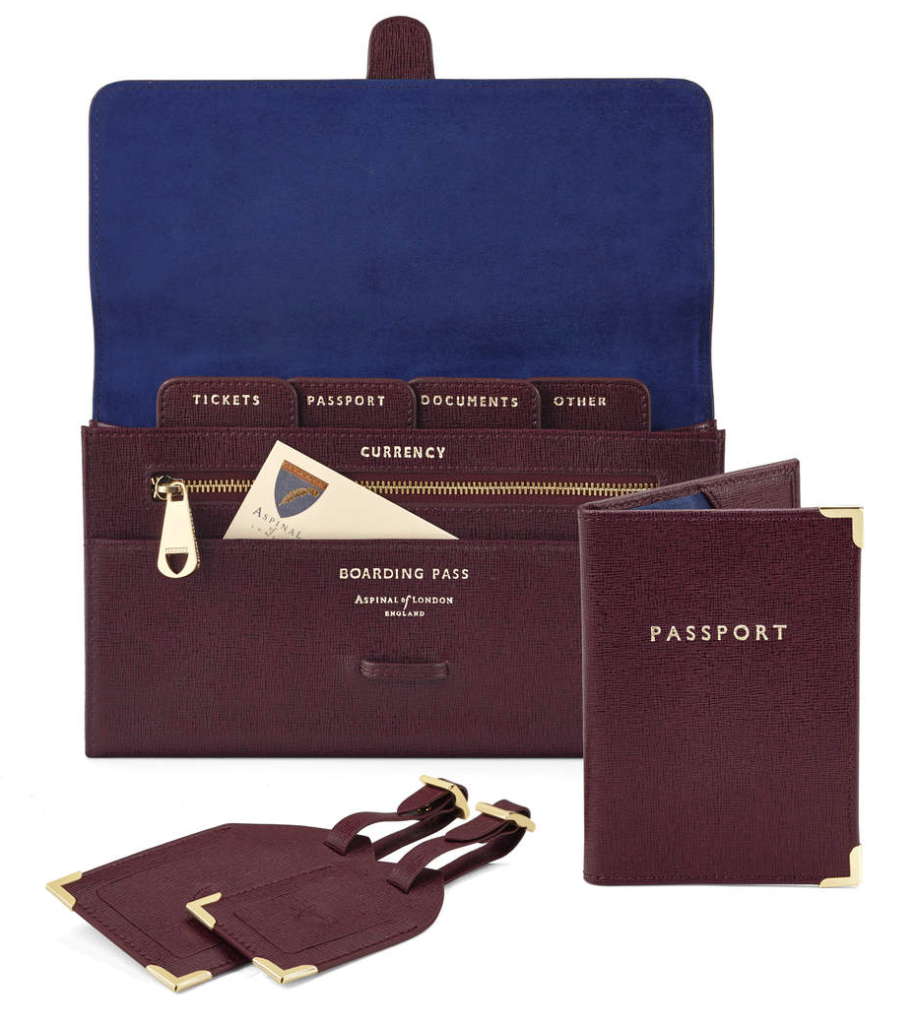 The Aspinal Of London Classic Travel Collection.