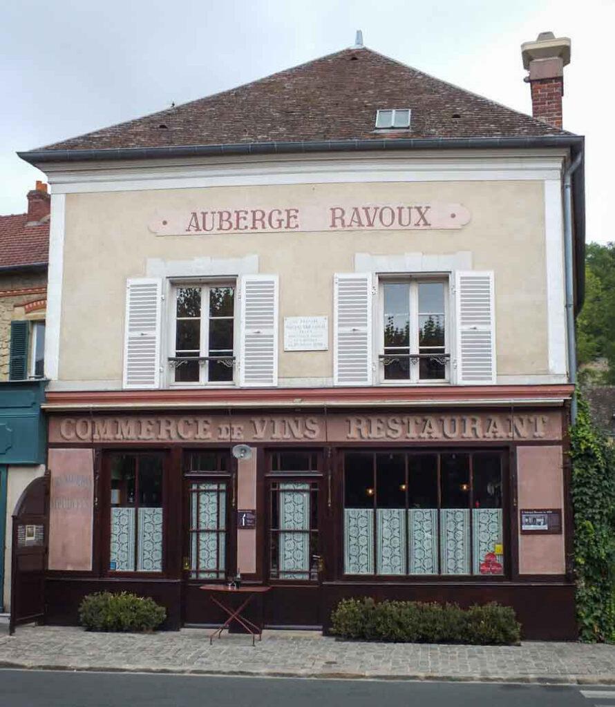 The Auberge Ravoux in Auvers-sur-Oise.