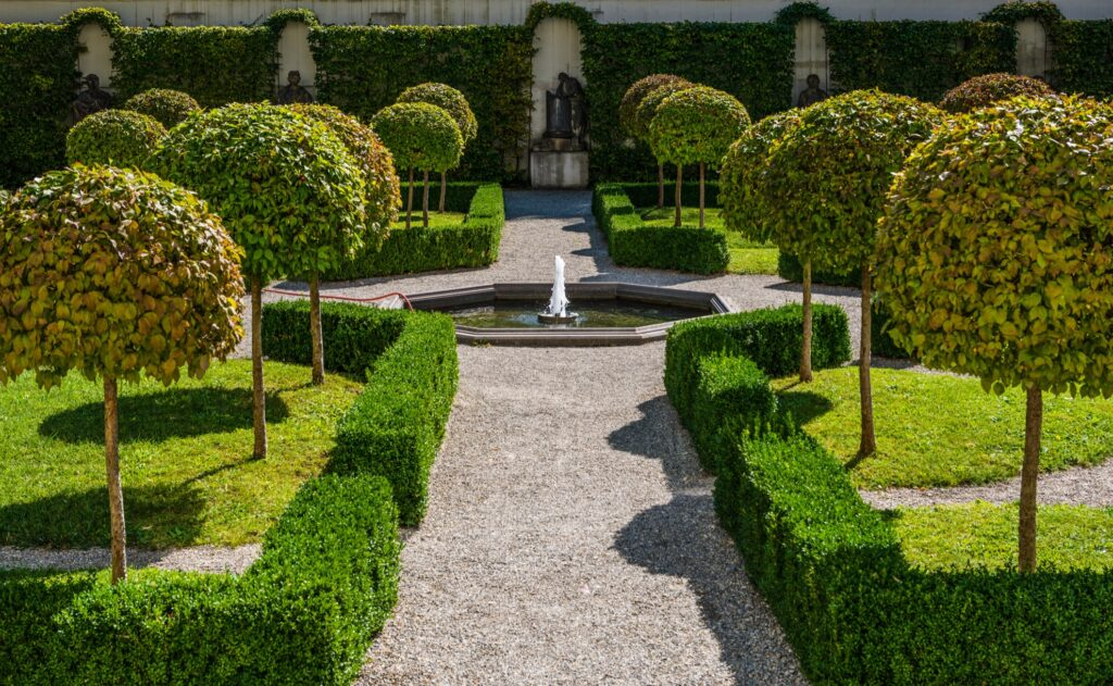 The Augsburg Botanical Garden in Bavaria.