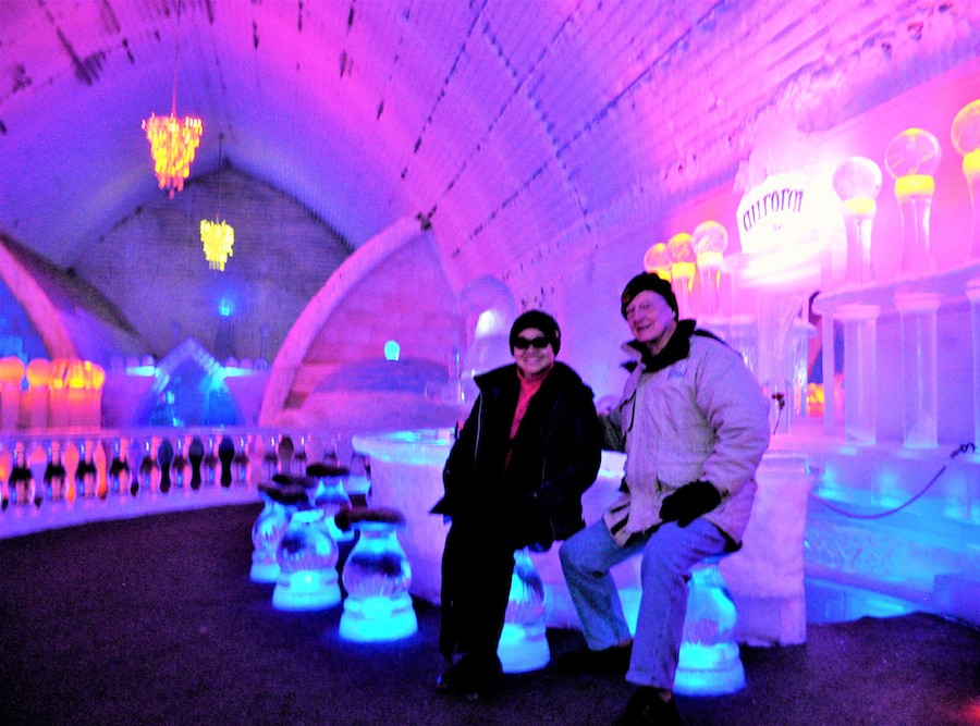 The Aurora Ice Museum at Chena Hot Springs.