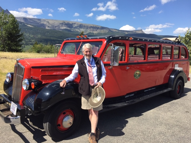 The author and his bus.