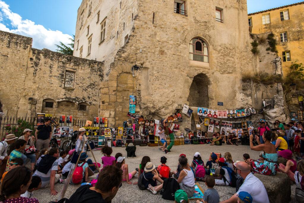 The Avignon Festival in France.