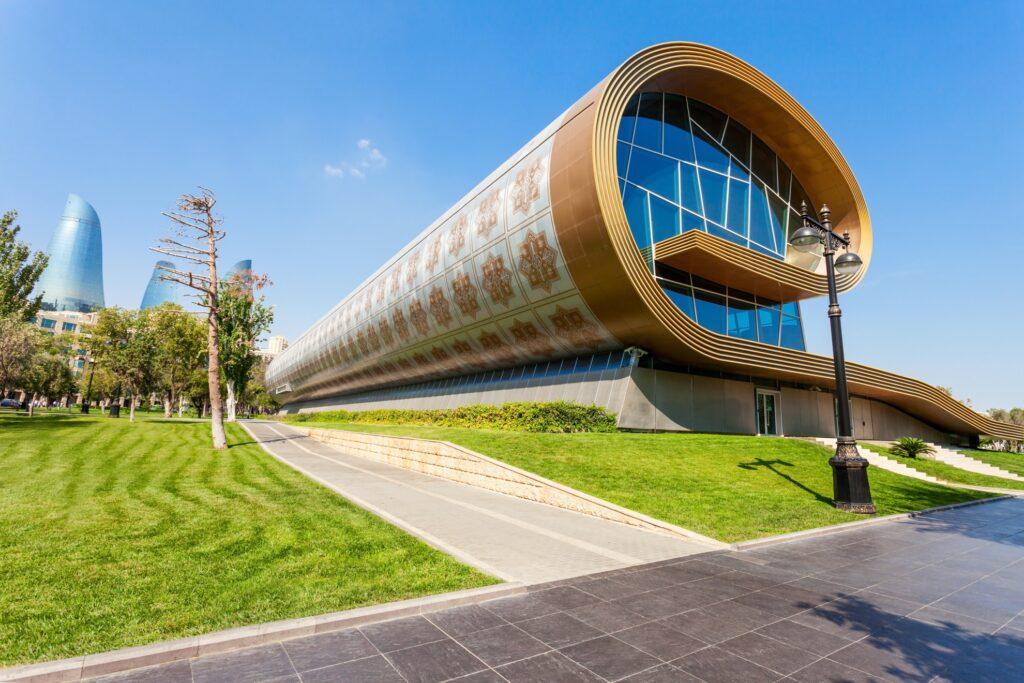 The Azerbaijan National Carpet Museum in Baku.