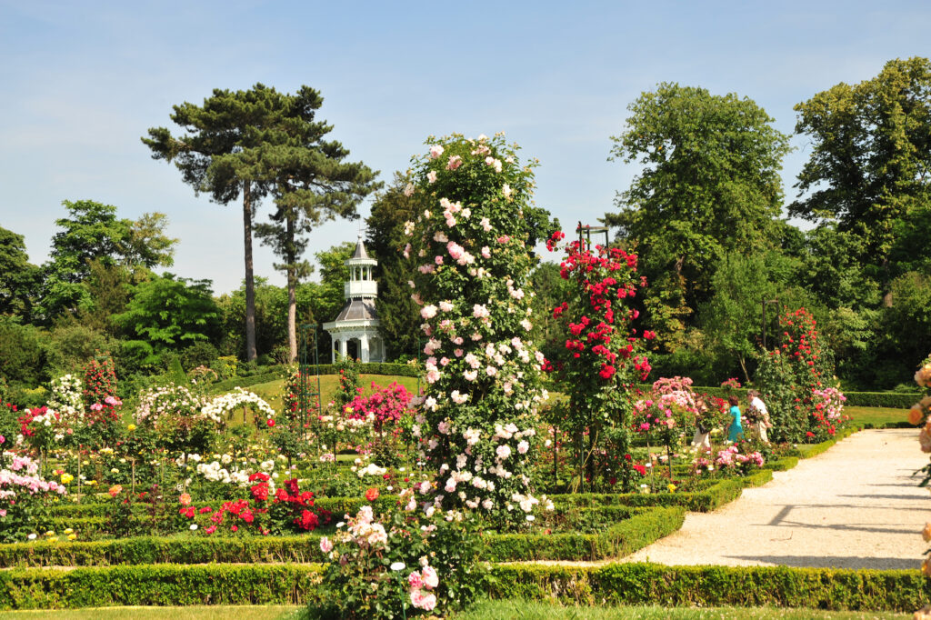 The Bagatelle Gardens just outside of Paris.