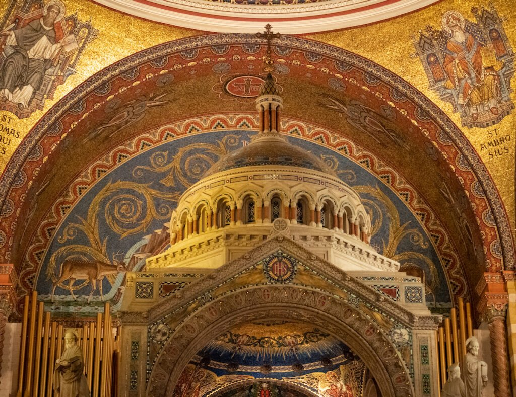 The Baldacchino in the Cathedral Basilica of St. Louis.
