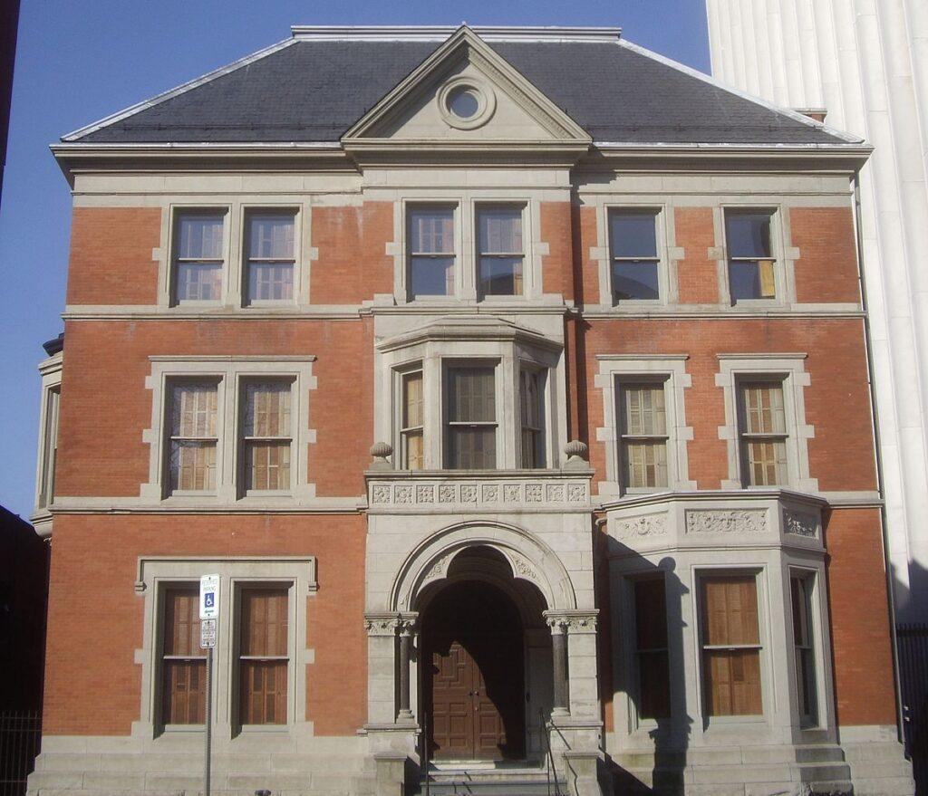 The Ballantine House in Newark, New Jersey.